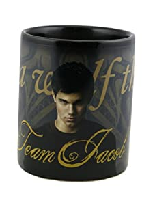"Twilight New Moon ""Team Jacob and Wolf Tattoo"" Thermal Mug"