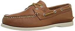 Sperry Top-Sider Men\'s A/O 2 Eye Boat Shoe,Tan,12 M US