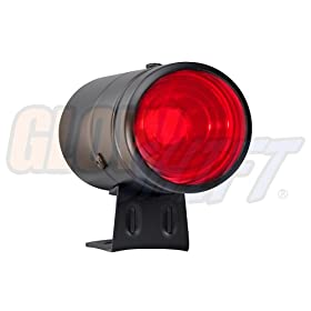 GlowShift Black Adjustable Shift Light w/ Red Light