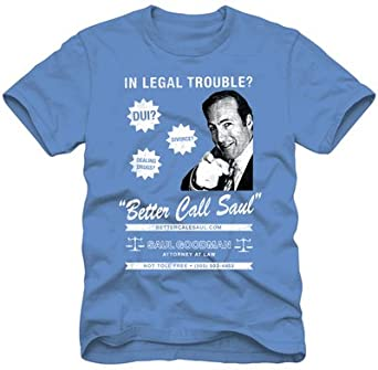 Breaking Bad Men's Better Call Saul T-shirt S