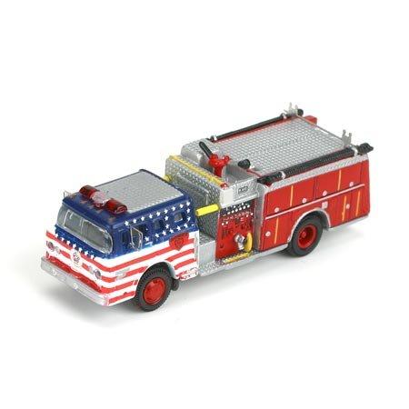 N RTR Ford C Fire Truck, Napa/Bicentennial