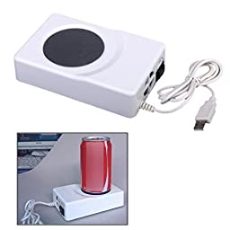 USB thermal insulation plate heater heating winter gift USB coaster coaster (Cold and hot dual purpose)