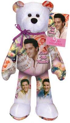 Elvis Presley Love Me Tender Bear # 009