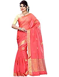 Mimosa Cotton Saree (1457-Ab-Peach_Peach)