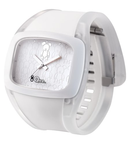 o.d.m. Unisex DD100A-24 Spin Toy2R Series Matt White BearBearQ Watch