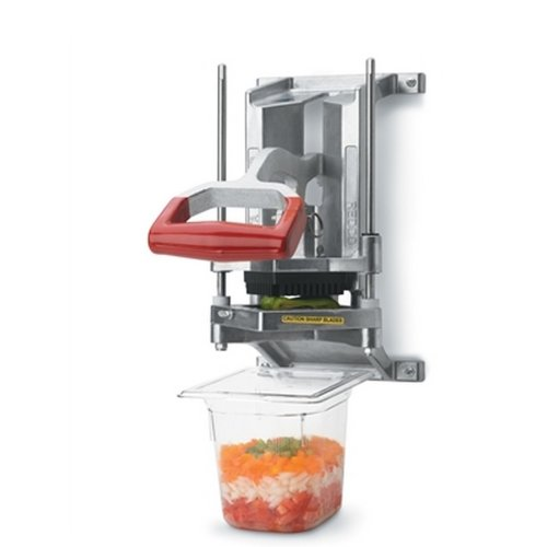 Review Vollrath 15017 Redco Instacut 3.5 Wall Mount Dice Cut Food Processor, 3/8-Inch Cut