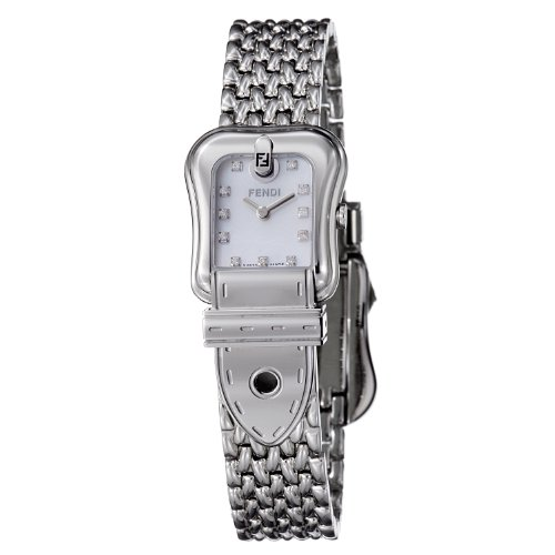 Fendi B.Fendi Milanese Bracelet Small Diamond Dial Women's Watch #F386240D