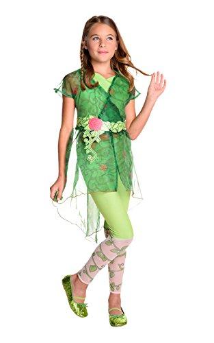 Rubie's Costume Kids DC Superhero Girls Deluxe Poison Ivy Costume, Medium