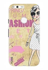 Noise Designer Printed Case / Cover for Google Pixel / Animated Cartoons / Spring Fashion Design