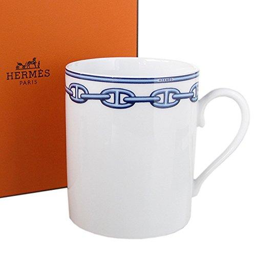 エルメス HERMES シェーヌダンクルブルー マグカップ シングル 300ml 002734P1 【並行輸入品】