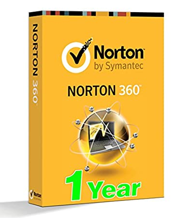 norton 360 2016 antivirus - activation key 1 Year Protection - (2 Key of 180 + 180 Days) for 1 PC each key