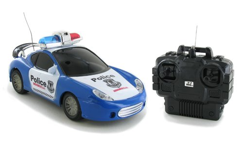 Victor Racing Police Edition Electric RTR Remote Control RC Car