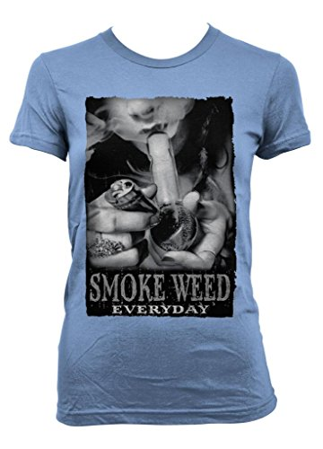 Cybertela Smoke Weed Everyday Junior Girl's T-shirt