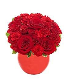 Christmas Tonight - Red Roses Hub - Eshopclub Same Day Flower Delivery - Online Christmas Flower - ChristmasFlowers - ChristmasFlowers Bouquets - Send Christmas Flowers
