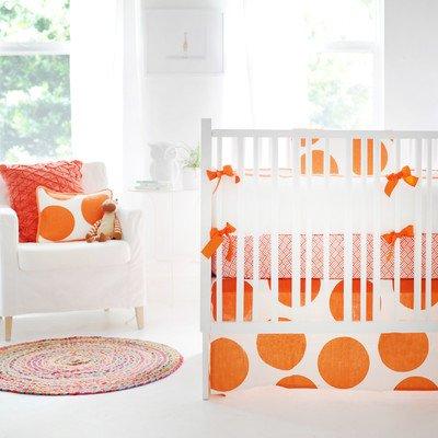 New Arrivals Spot On Tangerine 3 Piece, Orange/White
