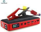 CAR ROVER® Portátil Car Jump Starter Bateria Externa Banco de energía Cargador de batería 450A Corriente pico 26000mah Capacidad de la batería Coche Booster de arranque para el Ordenador Portátil Smartphone Tablet