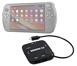 DURAGADGET JXD S7800B Games Console Micro USB Hub - Handy All in One Card Reader HUB with Micro USB Connectivity and JXD S7800B Games Console