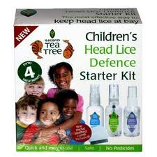 Escenti Head Lice Childrens Starter Kit - 3 x 50ml