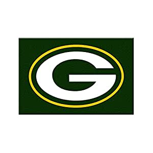 Green Bay Packers Nfl Rookie Bathroom Rug 19x30 Sports Outdoors