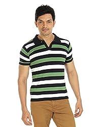Silver Spring Black Super Combed Cotton T Shirt _ RVD005_XL