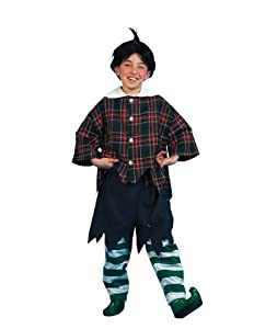Wizard of Oz - Munchkin Kid Child Halloween Costume, Multicolored