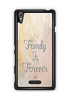 YuBingo Family is Forever Designer Mobile Case Back Cover for Sony Xperia T3