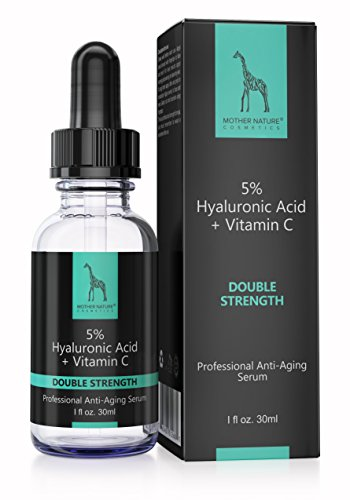 Mother Nature - Hyaluronic Acid-Serum || Anti-Aging || Double Strength