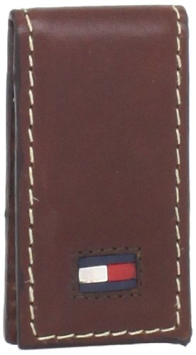 Tommy Hilfiger Men's Magnetic Money Clip,Brown,One Size (Tommy Money Clip compare prices)