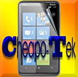 4121d0TpnSL. SL160  5 Pack CHEAPO Tek© T Mobile HTC HD7 WINDOWS PHONE Screen Protectors (CLEAR)