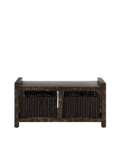 Safavieh Arnold Console, Dark Brown
