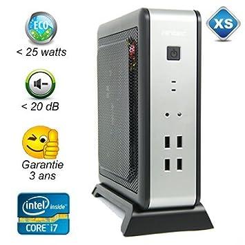 ISK110-LT-4790T - Intel Core i7 quatre coeurs - 4Go - 500Go - 20dB max - moins de 25 watts - garantie 3 ans