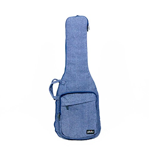 Phitz - Electric Guitar Case, Chambray Fabric