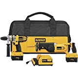 DEWALT DCX5210 28-Volt Lithium Ion Cordless Hammerdrill/Reciprocating Saw Combo Kit with NANO Technology
