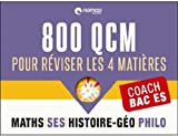 Coach Bac L : 800 QCM pour réviser sur les 3 matières principales