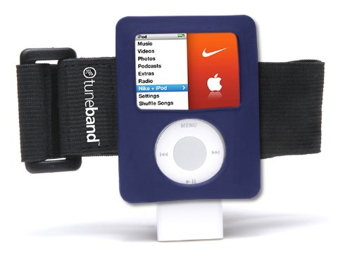 Tuneband, Grantwood Technology's Armband, Silicone Skin, and Screen Protector for iPod Nano, 3rd Generation, Compatible with Nike+iPod, Assorted Colors