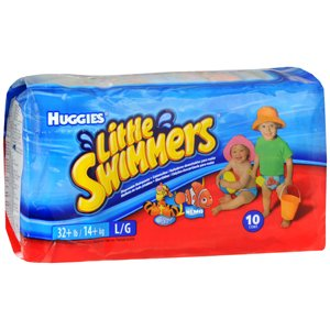 HUGGIES LITTLE SWIM LGE 8/CS 10EA KIMBERLY CLARK CORP.