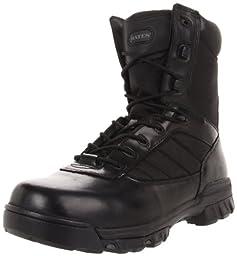 Bates Men\'s Ultra-Lites 8 Inches Tactical Sport Side Zip Work Boot,Black,11.5 EW US