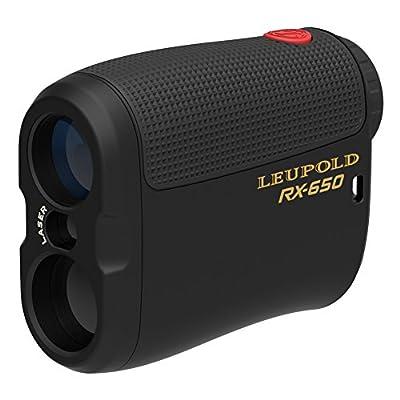 Leupold 120464 RX-650 Micro Laser Rangefinder, Black by Leupold