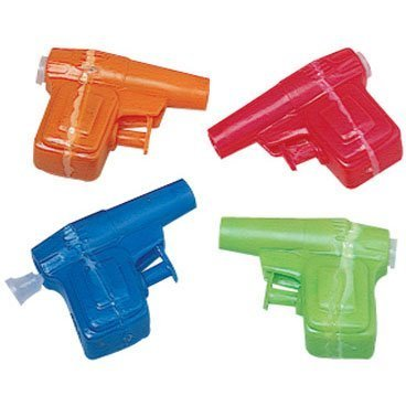 Mini Water Gun (12 Pack) Plastic. 2 1/4""