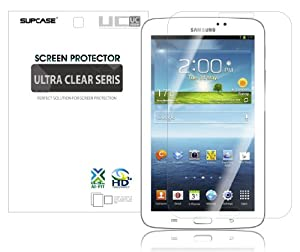 SUPCASE Premium Ultra Clear Screen Protector for Samsung Galaxy Tab 3 8.0 Tablet (2 Pack)