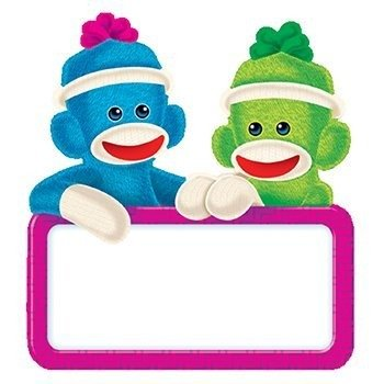 * Sock Monkey Signs Mini Accents at 'Sock Monkeys'