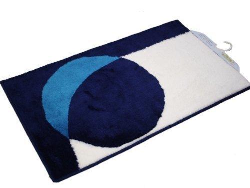 sanwood-point-turchese-bianco-blu-tappeto-tappetino-da-bagno-60x90cm