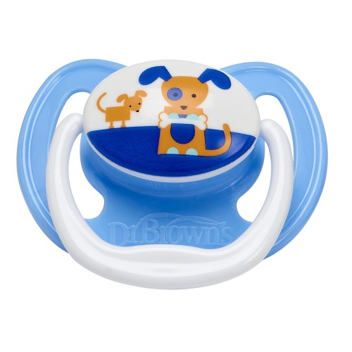 Dr Brown'S Prevent Soother (0-6 Months, Blue Dog) front-967779