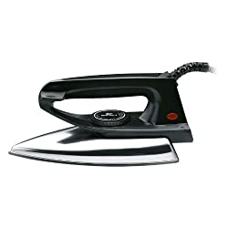 Bajaj DX 2 600-Watts Light Weight Iron (Black)