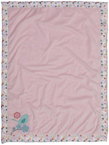 BananaFish MIGI Modern Blossom Blanket - Pink