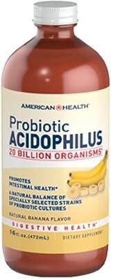 American Health Probiotic Acidophilus Culture Banana 16 fl. oz.