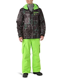 Snow Jacket Men Rip Curl Answer Printed Jacket