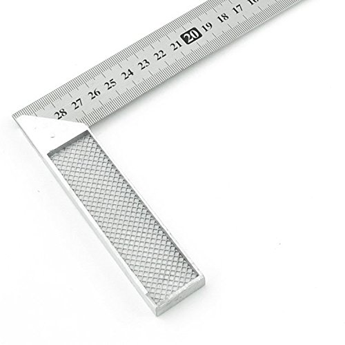 Best Selling 30cm Stainless Steel Right Measuring Angle Square Ruler (Stainless Steel Ruler 36 compare prices)
