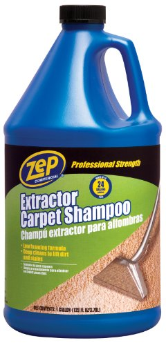 Zep Commercial Zep Extractor Carpet Shampoo, 128 oz