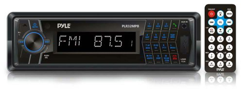 Pyle - In-Dash AM/FM-MPX Radio with SD/USB/MP3 Playback, 3.5